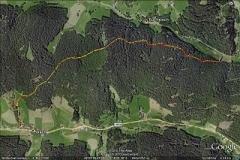Linachtalsperre Wanderweg